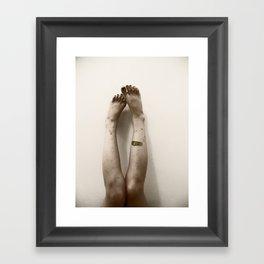 Zombie Legs Framed Art Print