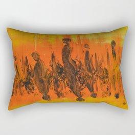 Abstract People Sunset Rectangular Pillow