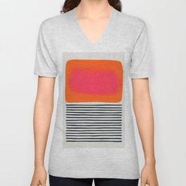 Sunset Ripples Unisex V-Neck