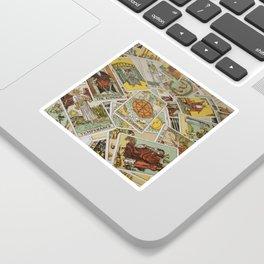 Tarot Cards Sticker