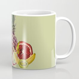 Fresh Fruits summer Selection - green Coffee Mug
