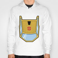 transformers Hoodies featuring Transformers - Sunstreaker by CaptainLaserBeam