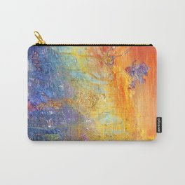 Delusional Sunset by Nadia J Art Carry-All Pouch