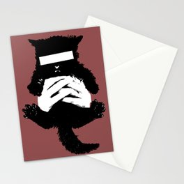 Bad Kitty Stationery Cards