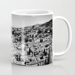 Old Granada rooftops, Andalucia, Spain Coffee Mug