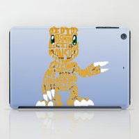 digimon iPad Cases featuring Argumon by pokegirl93