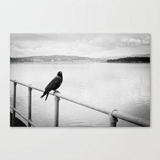 Eerie Bird Canvas Print