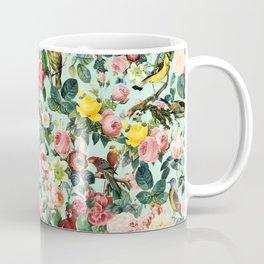 Floral and Birds III Coffee Mug