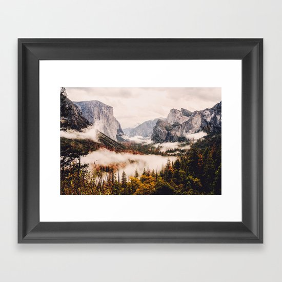 Amazing Yosemite California Forest Waterfall Canyon by adventurecalling