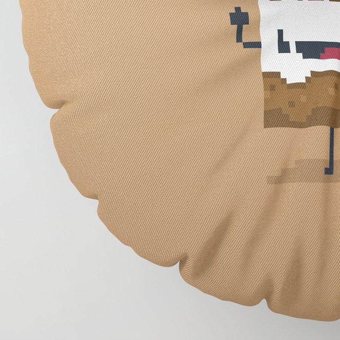 Choco Milk Floor Pillow