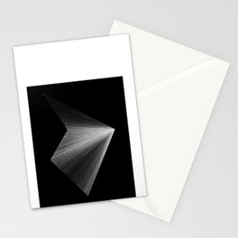 lines: reversed Stationery Cards