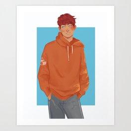 Neil Josten fanart Art Print