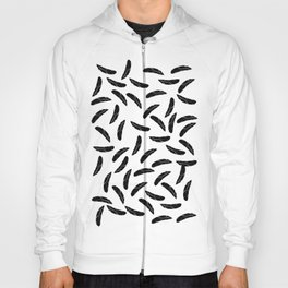 Feathers Cut Out Hoody