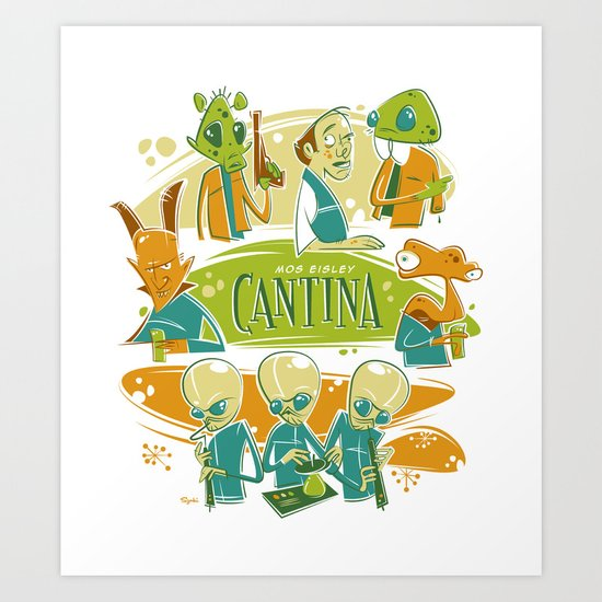 Cantina Art Print