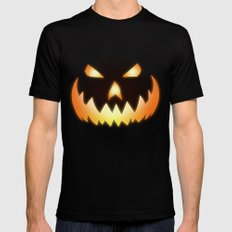 Halloween Black Mens Fitted Tee LARGE