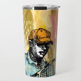 Tennis Backhand Travel Mug