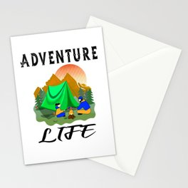 Adventure Life Outdoor Camping Activity Stationery Cards