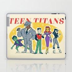 Retro Teen Titans Laptop & iPad Skin