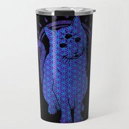 Trippy Cat: 4 Travel Mug