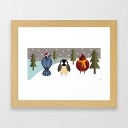 WINTERPALS  Framed Art Print