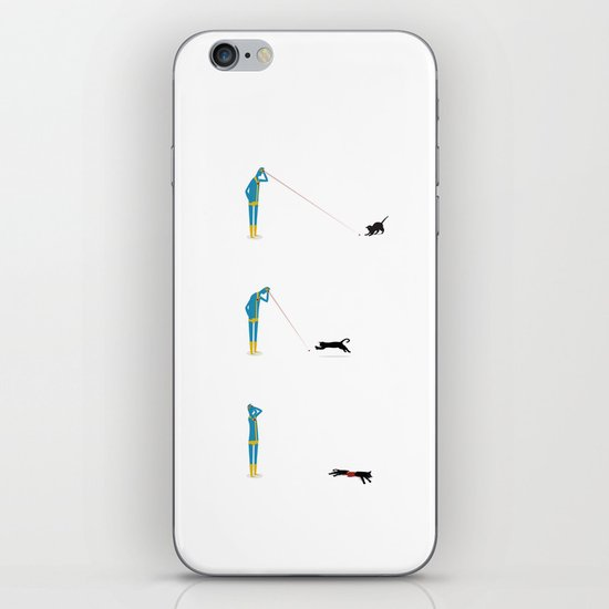 Cyclops' Cat iPhone & iPod Skin