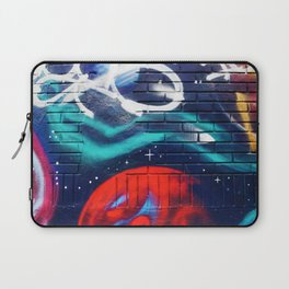 Psychedelic Graffiti Dream (Color) Laptop Sleeve