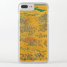 Siege of Osaka Castle Clear iPhone Case