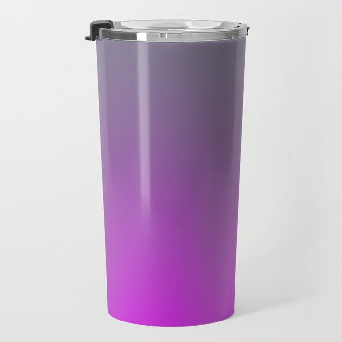 GET LOST - Minimal Plain Soft Mood Color Blend Prints Travel Mug