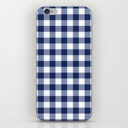 Gingham iPhone Skin