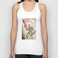 evil dead Tank Tops featuring Ash from The Evil Dead by Joe Badon