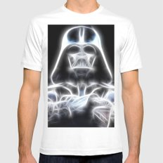 Darth Vader Electric Ghost White Mens Fitted Tee MEDIUM