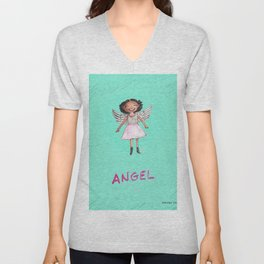 Appealing to your better angels Unisex V-Neck