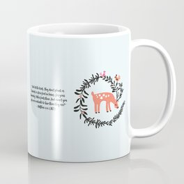 Deer & Birds Coffee Mug
