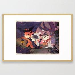 Adventure Cats Framed Art Print