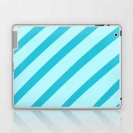 Minty Stripes Laptop & iPad Skin