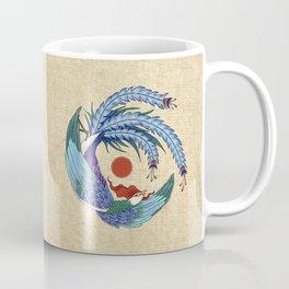 Minhwa: Asian Phoenix H Type Coffee Mug