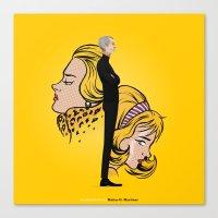 lichtenstein Canvas Prints featuring Lichtenstein by Matias G. Martinez