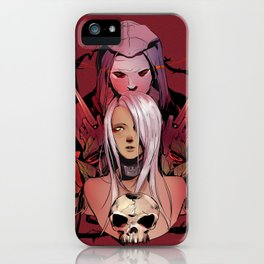 The Reaper and The Wolf iPhone Case