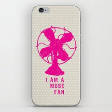 i am a muse fan iPhone & iPod Skin