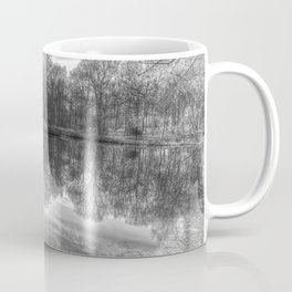 Early Morning Forest Pond Coffee Mug