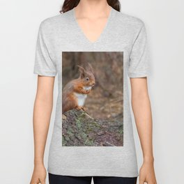 woodland cuties Unisex V-Neck