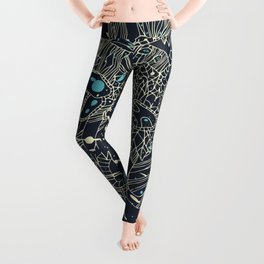 Chaos and order Leggings