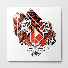 OYE - Tiger Metal Print