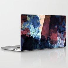 dark blue & marsala Laptop & iPad Skin