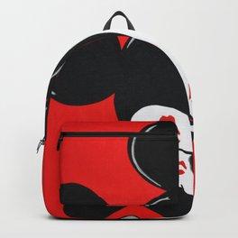 Bisous tout rouge avec La Petite Célèbre Souris Backpack