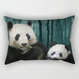 Giant Pandas Rectangular Pillow