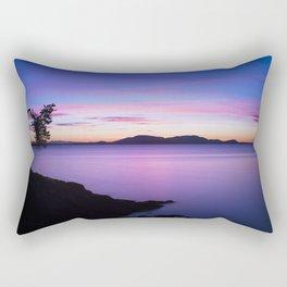 Vibrant Sunset Rectangular Pillow