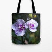 orchid Tote Bags featuring Orchid by MVision Photography