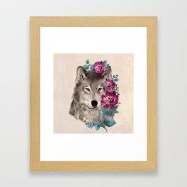 Gently Ferocious Framed Art Print