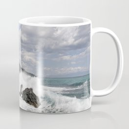 The Power of Sea on the Isle of Sicily Coffee Mug